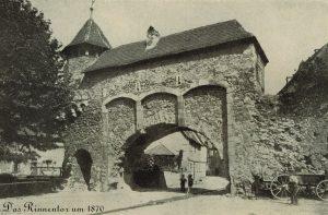 Rinnentor um 1870